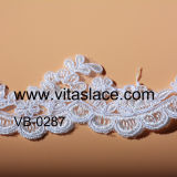 White Rayon Lace Trim Supplier in China Vb-0287bc