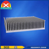 Aluminum Heat Sink with Tower-Shaped Fin Made of Alloy 6063