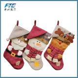 Elk Christmas Stocking Decoration Gift Stocking