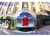 Christmas Inflatable Snow Globe for Holiday Decoration