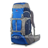 Waterproof Durable Nylon Hiking Trekking Travel Bag Backpack with USB Charger