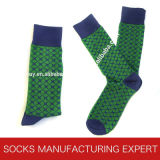 Men′s High Quality Comb Cotton Luxury Sock
