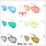 Newest Fashion and Colorful Metal Sunglasses (MI203)