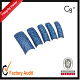 Professional Salon Glitter Nail Tip, Artificial Nail Art Wholesale