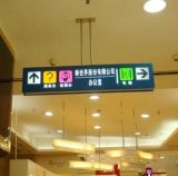 High Quality LED Lighted Way Finding Signs for Shopping Mall