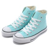 Customized High Ankle Men′s/Women′s Canvas Shoes for Running