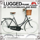 "Lugged Frame 28"" Coaster Brake City Bicycle for Lady (AYS-2828S-10)"