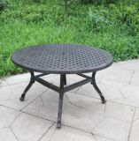 Easy Assembly Cast Aluminum Round Coffee Table Furniture for Ootdoor