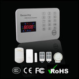 Security Home Wireless Burglar GSM Alarm System with Touch Keypad