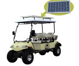 Solar Panel Electric Hunting Vehicle, 4 Seats with Basket