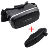 High Quality 3D Virtual Reality Google Cardboard with Bluetooth Remote Controller