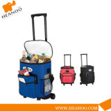 Custom Made Large Travel Trolley Cooler Bag with Wheels
