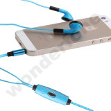 Fashion Flash Lighting Earphone with LED Microphone Headset