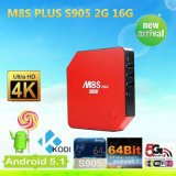 Amlogic S905 M8s+ Android 5.1 Quad Core TV Box