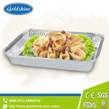 Food Use and Square Type Airline Aluminum Foil Container