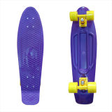 22inch PP Mini Skateboard Cruiser Complete Skateboards Banana Skateboard Purple-38