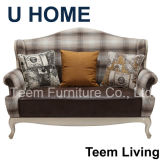 Classic Sofa for Living Room with Beech Wood