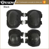 Black Color Outdoor Airsoft Military Tactical Knee Pads