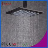 Fyeer Classic Style 8 Inch Square Black Rainfall Shower Head