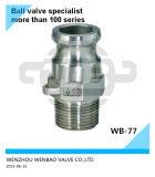 Stainless Steel 304, 316 Male Threaded Adaptor