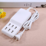 12A Desktop 6 Port Multi USB Charger with 1.5m Cable