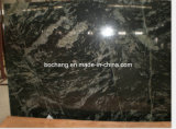 Polished Black Galaxy Granite Stone Slabs for Interior & Exterior Decoration