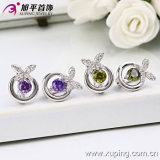 Xuping Rhodium Color New Design Fashion Earring (28744)