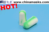 PU Disposable Soundproof Safety Earplug with CE