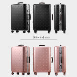 Magllu Luggage Travel Set Bag ABS+PC Trolley Suitcase Rose Gold