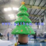 fashion Design for christmas Inflatable Tree/Inflatable Christmas Tree and Snowman