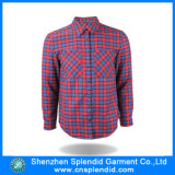 Wholesale Clothing Cotton Plaid Shirt Ladies Office Work Wear Designs