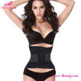 Fitness Waist Cincher Black Hook Loop Fastener Closure Body Shaper Corset
