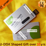 Slidable Metal Card USB Flash Memory for Custom Gift (YT-3106)