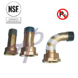 NSF Approved 1/2′′-2′′ Water Meter Coupling of Bronze or Brass Material