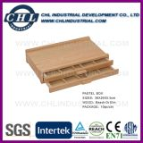 China Supplier Promotional Kids Wooden Easel Box with Drawer