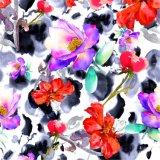 High Quality Custom Digital Printing Polyester Fabric (PPF-035)