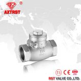 H14 200wog Stainless Steel Threaded Swing Check Valve