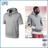 2017 OEM Short Sleeve Fleece Popular Training Hoody