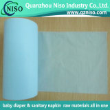Blue Micro Embossed Polyethylene Film for Underpad and Pet Pad