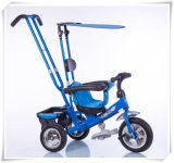 New 3 in 1 Kids Tricycle Ride on Trike Children Baby Tricycle with Canopy