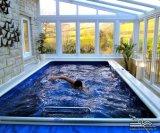 Customized Leisure Villas Aluminium Sun Lounge Garden Glass House (TS-584)