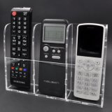 Remote Control Holder Clear Acrylic Home Organizer