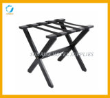 New Design Black Solid Luggage Rack for Guestroom