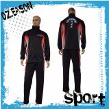 Cheap Custom Men/Women 100% Polyester Fitted Sport Tracksuit (TJ018)