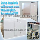 Safety Door Lock Cold Storage Room with B1 Grade Fire Retardant PU