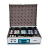 Bank Cash Box for Cash and Coins Storage with Handle
