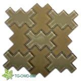 Brown Irregular Glass Mossaic (TG-OWD-885)