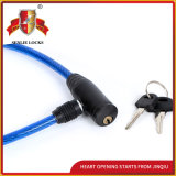 Jq8202 High Quality Safety Bicycle Lock Motorcycle Steel Cable Lock