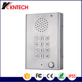 Flat Keypad Intercom Call Indicator Stainless Steel Telephone Knzd-29 Kntech