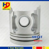 Excavator Engine Parts of 6D34 6D34t Piston with Pin OEM (ME220454)